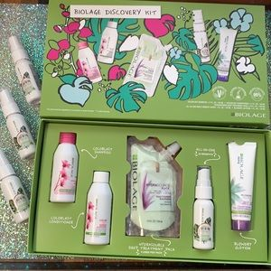14pc BIOLAGE haircare discovery kit & more